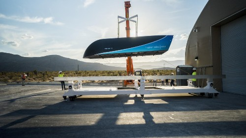 Hyperloop One's full-scale pod reaches 192 mph in new Nevada track test