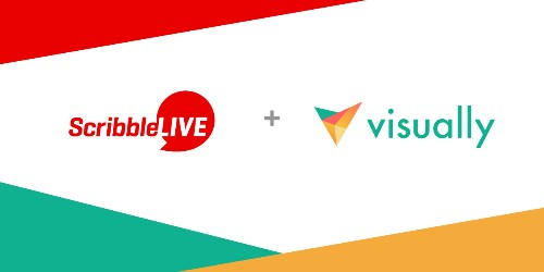 ScribbleLive Acquires Visually To Combine Their Content Marketing Tools