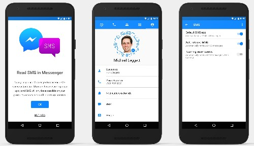 To beat SMS, Facebook Messenger eats SMS