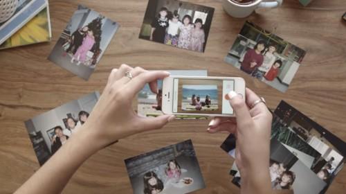 Heirloomは、古い写真をスマホで撮って整理するアプリ