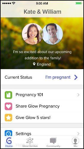 Glow Gives Life To Pregnancy App Glow Nurture