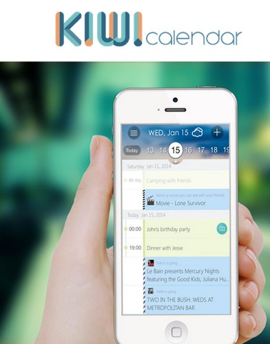 Kiwi Calendar's New App Does More Than Organize Your Meetings, It Also Recommends Local Events