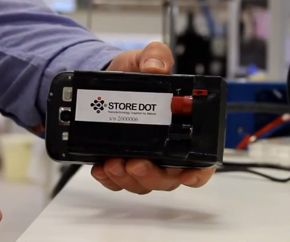 StoreDot's Bio-Organic Battery Tech Can Charge From Flat To Full In 30 Seconds