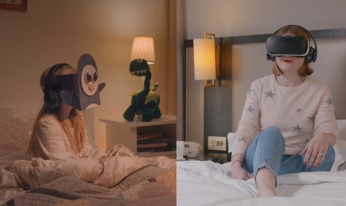 Samsung's VR bedtime stories are cute, but really?