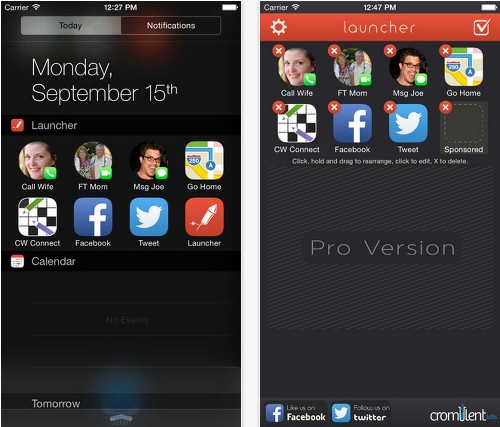 Apple Rejects Launcher, The App That Lets You Launch Other Apps From iOS 8 Notification Center