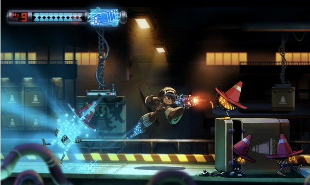 Mega Man's Creator Turns To Kickstarter To Fuel His New Game (Which Looks A Whole Lot Like Mega Man)