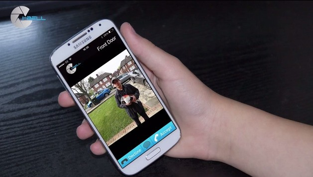 i-Bell Lets You Know Who's Ringing Your Doorbell From Afar