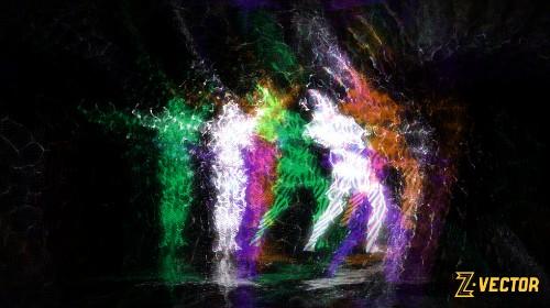 Kinectからのライブ3Dデータで作るZ Vectorの美麗なるビデオアート