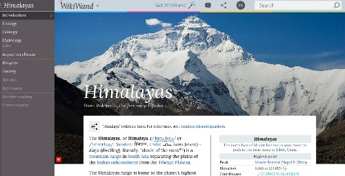 Web App WikiWand Raises $600,000 To Give Wikipedia A New Interface