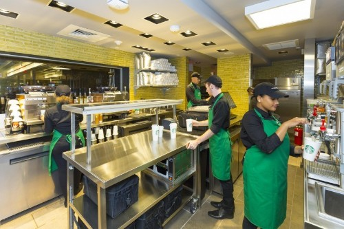 Starbucks Launches Pilot Test Of Its Own Green Apron Delivery Service, Starting In New York's Empire State Building