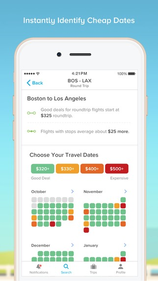 Apps for planning your vacation