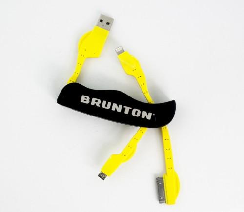 ヒトリデハキケンジャ コレヲ サズケヨウ―旅の伴にBruntonのユニバーサル充電ナイフはいかが?
