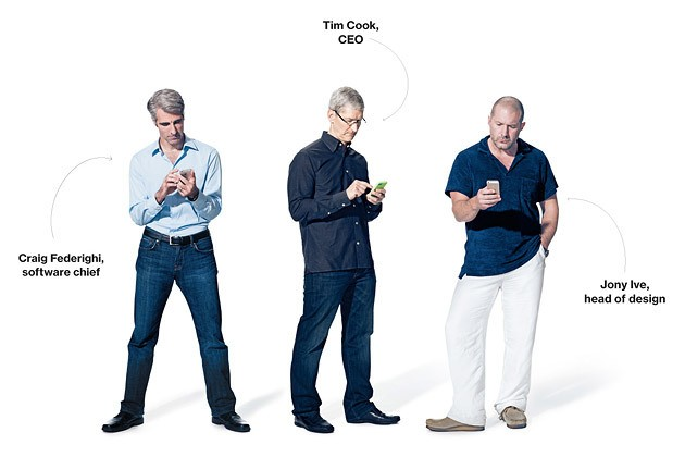 Apple - Magazine cover