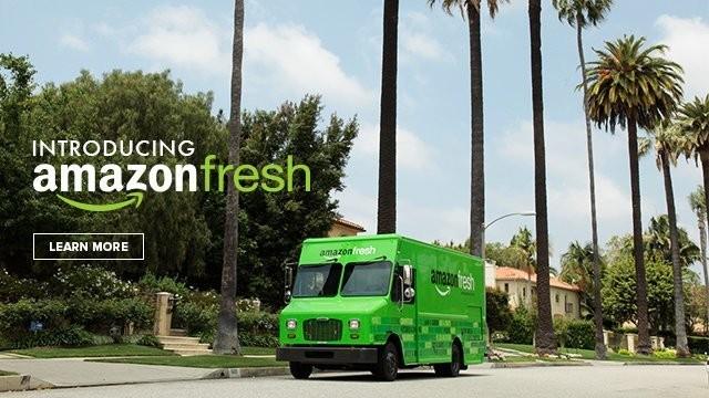 Amazon、生鮮食品を販売するAmazonFreshを来週中にもサンフランシスコで展開予定