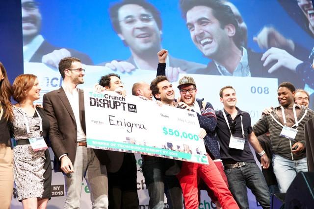 TechCrunch Disrupt NY 2013の優勝が決定…パブリックデータマイニングのEnigmaだ