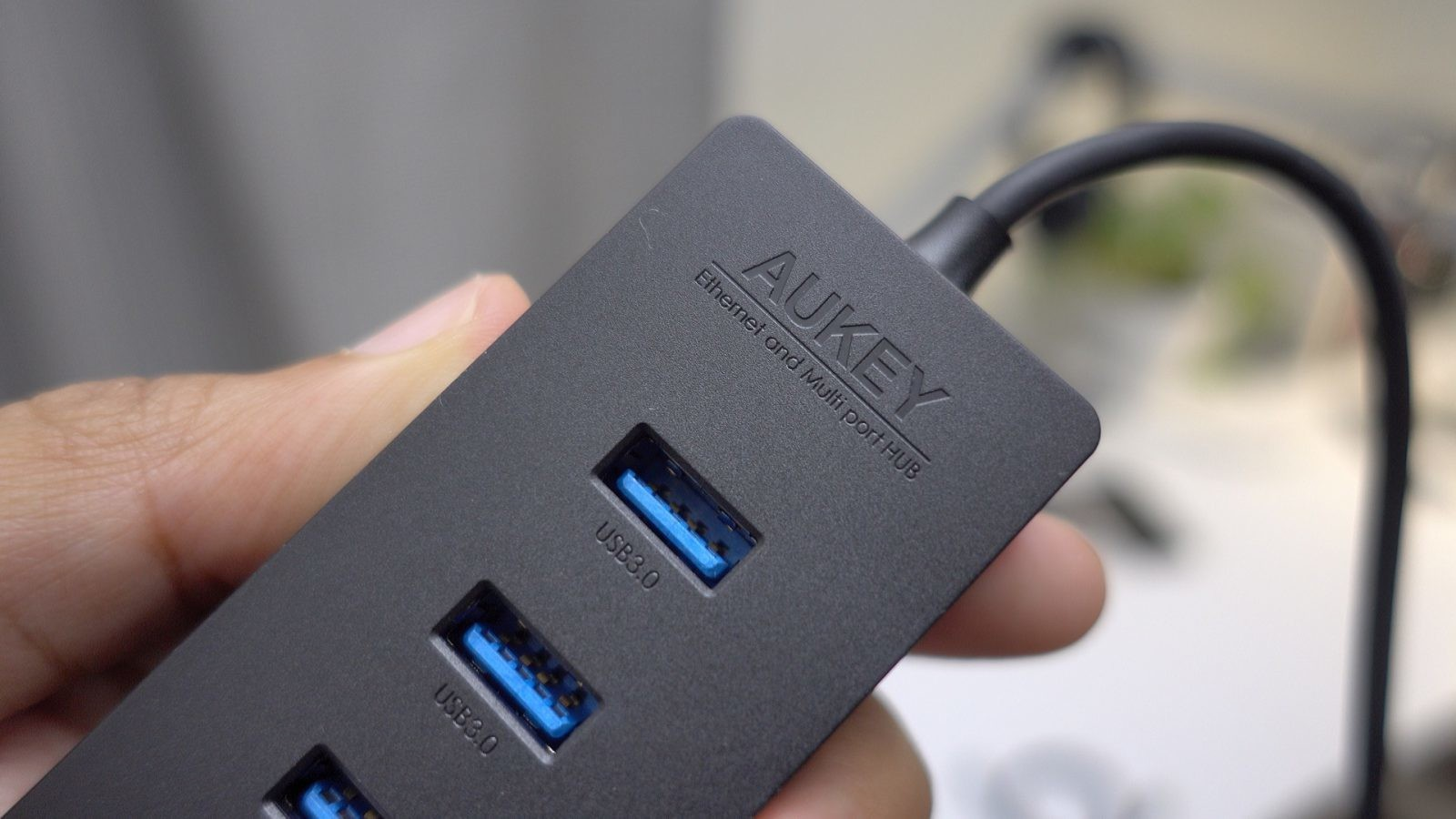 Hands-on: Aukey's USB-C Ethernet and USB Hub – a solid MacBook companion
