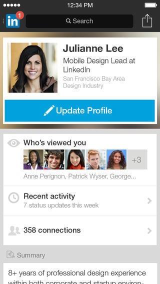 LinkedIn's Mobile Update Telegraphs Its Interest In Endorsement Data