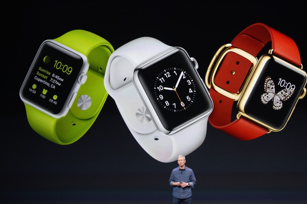 Apple Wearables - Magazine cover