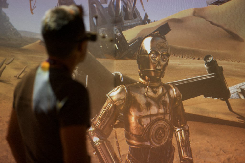 Augmented reality is conquering new frontiers with Star Wars