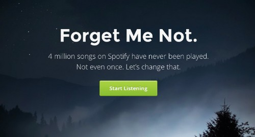 Forgotify Only Plays Spotify Songs That No One Has Ever Played Before
