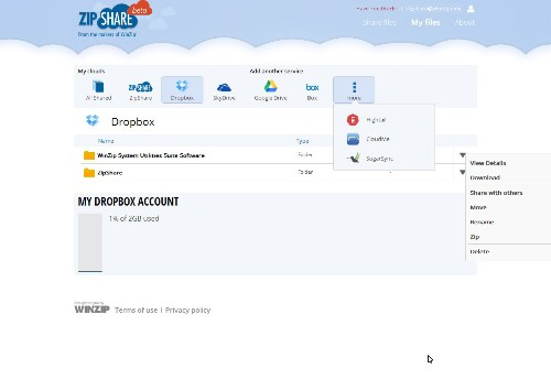 WinZip Moves To The Cloud With Launch Of ZipShare, A Way To Zip, Manage & Share All Your Online Files