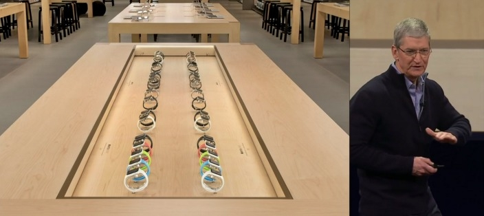 You WON'T need an appointment to try on Apple Watch in retail stores (but expect to wait)