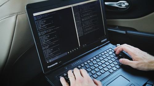 What it's like to drive a car while it's being hacked