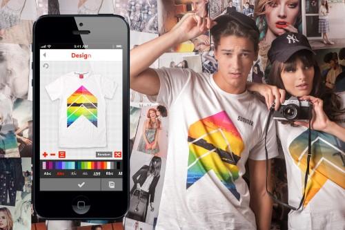 Tシャツを自分でデザインできるSnapteeが機能を充実して一般公開へ