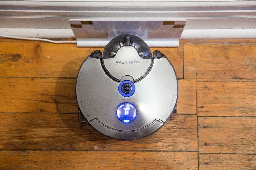 Dyson's 360 Eye robot vacuum succeeds by seeing more