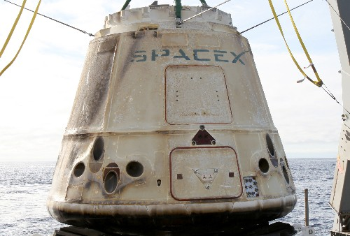 SpaceX's Dragon capsule successfully returns from 12th ISS resupply mission
