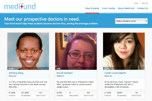 Crowdfunding Site Medifund Relaunches As Non-Profit To Help Med Students In Developing Countries