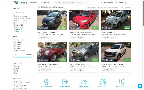 India-based used car marketplace Truebil refills its tank with $3M raise