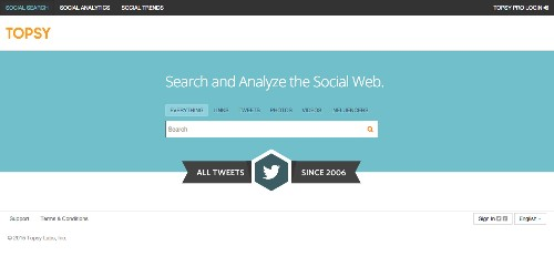 Topsy, The Popular Social Analytics Service Bought By Apple, Closes Down