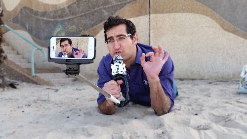 Solocam Is A Selfie Stick That Isn't Completely Insufferable