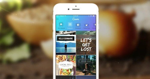 Canva brings professional design to anyone with its new iPhone app