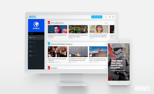 Automated video creation startup Wibbitz raises $20M