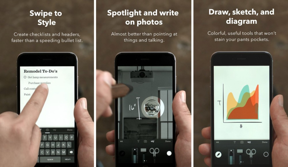Popular drawing application Paper by FiftyThree now available on iPhone