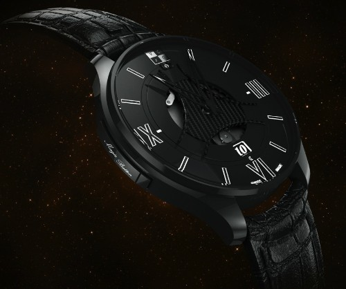 This Mechanical Watch Has A Magic Button That Sets It By GPS