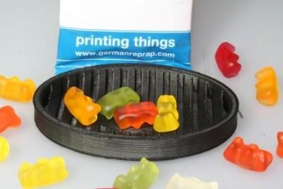 食品グレードのフィラメント登場で、3Dプリント先割れスプーン時代へ