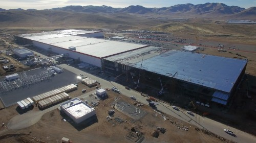 Watch how far Tesla's Gigafactory has come in new drone footage
