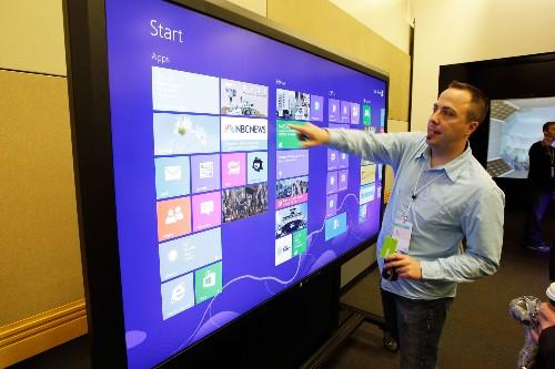 Microsoft Will Mass-Produce Its Big Ass Touchscreens