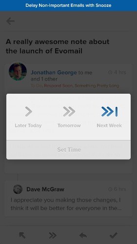 Evomail's Gesture-Based Email App Arrives On Android