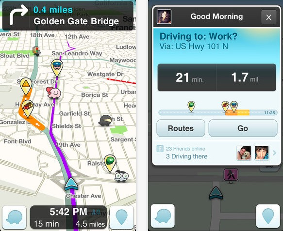 Google's Inroads For Waze Could Roadblock Facebook And Apple