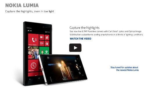 Nokia Teases Lumia 928 In Low Light Camera Test, Pits It Against Galaxy S3 & iPhone 5