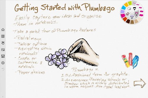 Microsoft Launches Plumbago, A Paper App Competitor That Lets You Sketch & Handwrite Notes