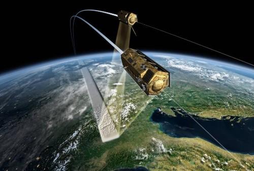 双子の人工衛星が5年間飛び続けて集めたデータから地球の精密な立体地図を作れた…ドイツ航空宇宙センター