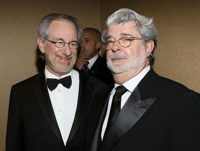 "Lucas And Spielberg Predict ""Massive Implosion"" Of Hollywood Caused By Tech Industry"