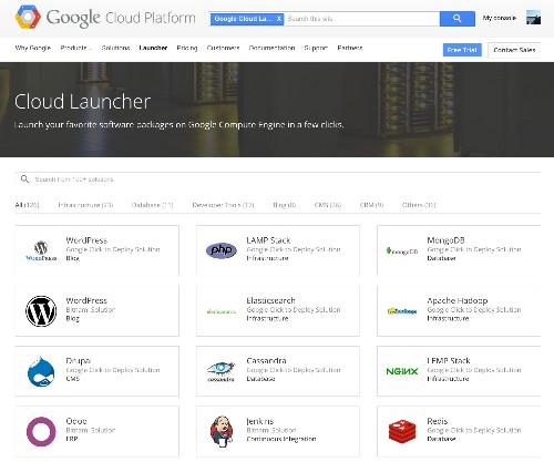 Google Cloud Launcher Lets Developers Quickly Deploy Over 120 Popular Open-Source Packages