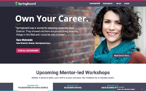 Springboard Raises $1.7M For Its Mentor-Based Approach To Online Learning