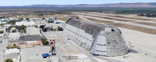 Google、モフェット空軍基地の運営をNASAから全面引き継ぎ―秘密研究所Xの本部に